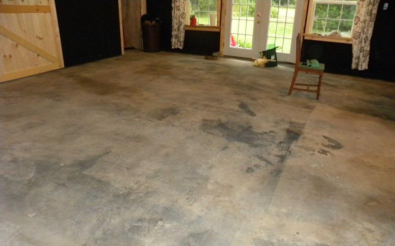 DIY Faux Brick Floor (1)
