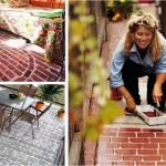 DIY เปลี่ยนพื้นเปล่าๆ ให้กลายเป็นพื้นอิฐ เหมาะกับทั้งในบ้านและนอกบ้าน