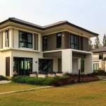 บ้านเดี่ยวขนาดสองชั้น ดีไซน์ร่วมสมัย ความฝันของชีวิตครอบครัวยุคใหม่