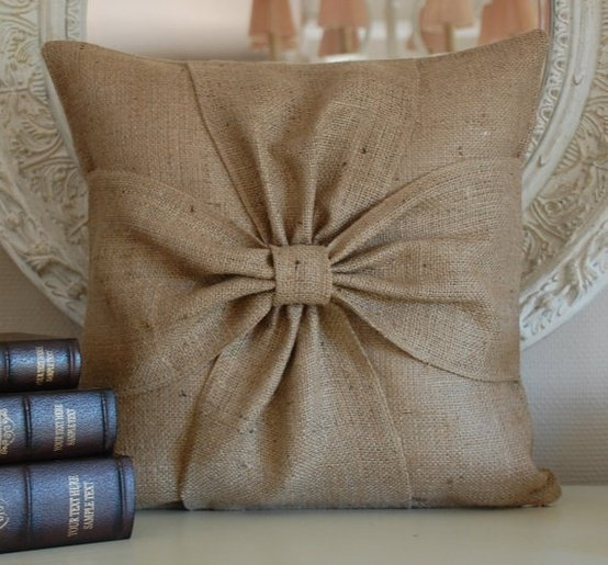 17 burlap decoration idea for interior (12)