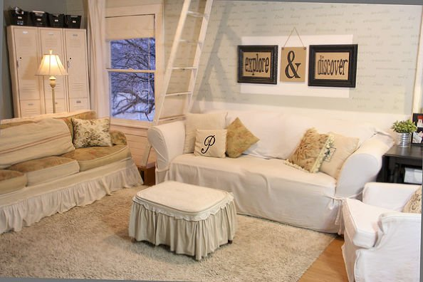 17 burlap decoration idea for interior (14)