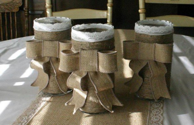 17 burlap decoration idea for interior (6)