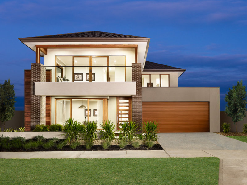2 storey modern elegant house (1)