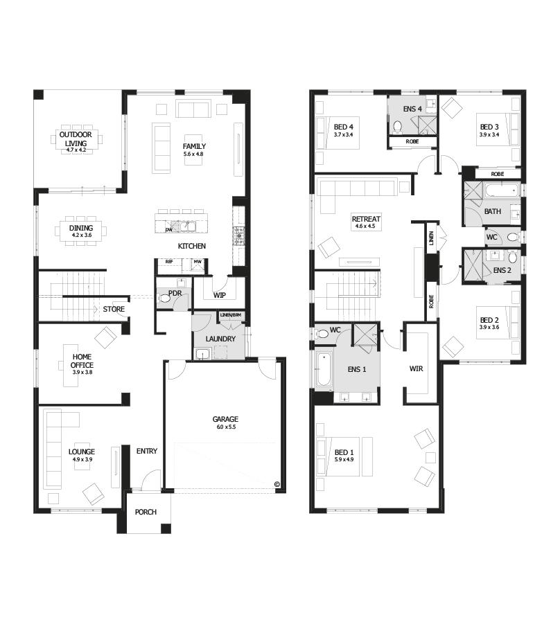 2 storey modern elegant house (9)