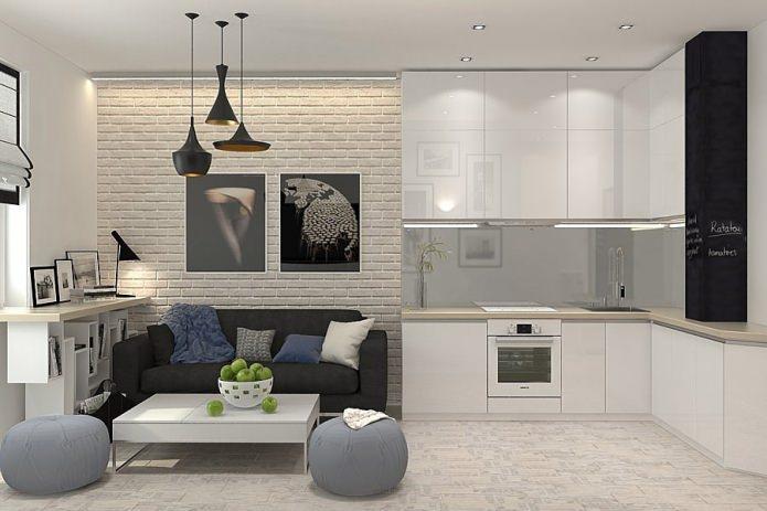white warm contempt 48 sq mts apartment (1)