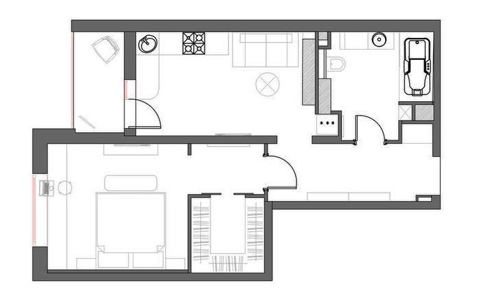 white warm contempt 48 sq mts apartment (14)