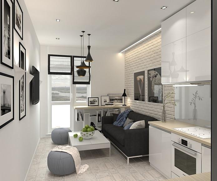 white warm contempt 48 sq mts apartment (2)