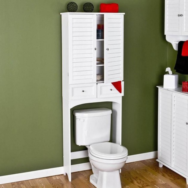 19 effective bathroom storage ideas (16)