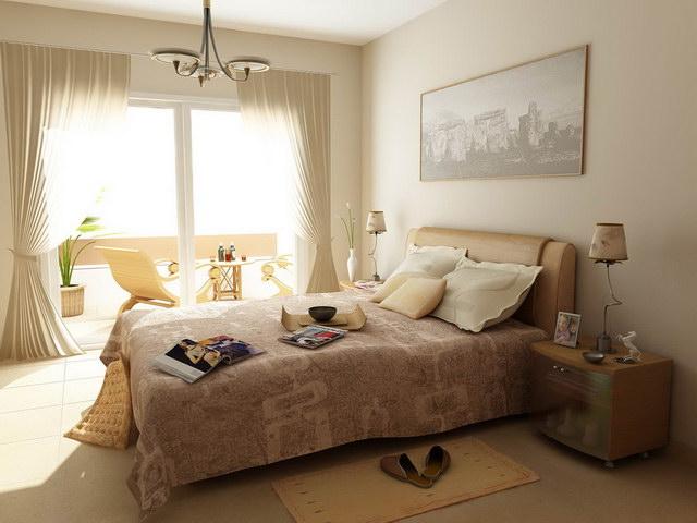 22 beige bedroom ideas to maximize coziness (21)