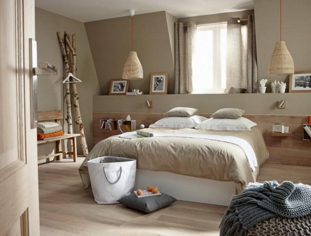 22 beige bedroom ideas to maximize coziness (3)