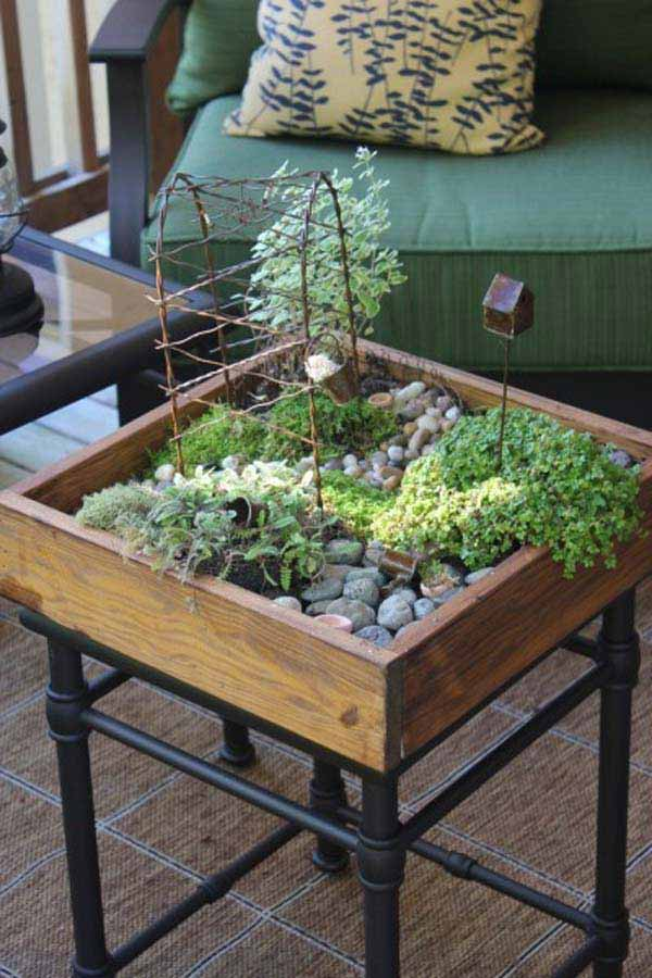 23 ideas to bring nature with indoor garden decoration (1)