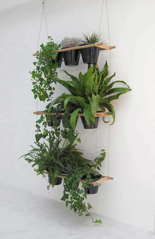 23 ideas to bring nature with indoor garden decoration (18)