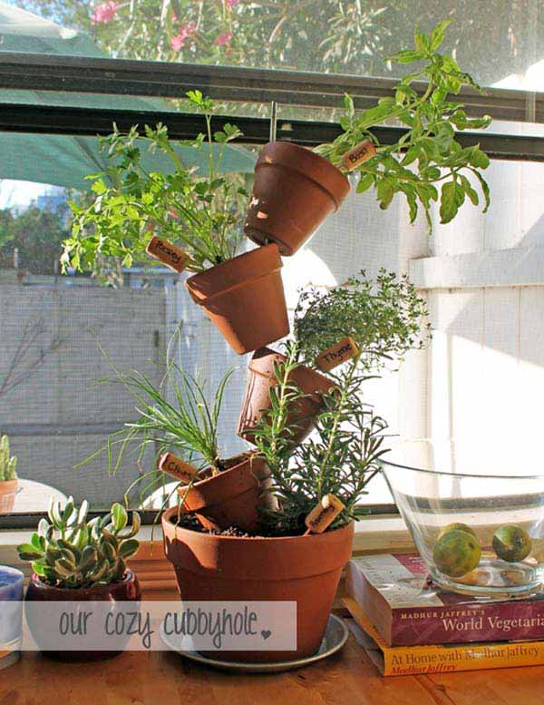 23 ideas to bring nature with indoor garden decoration (21)