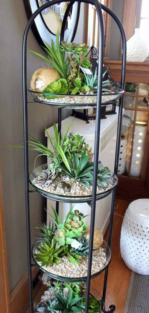 23 ideas to bring nature with indoor garden decoration (22)