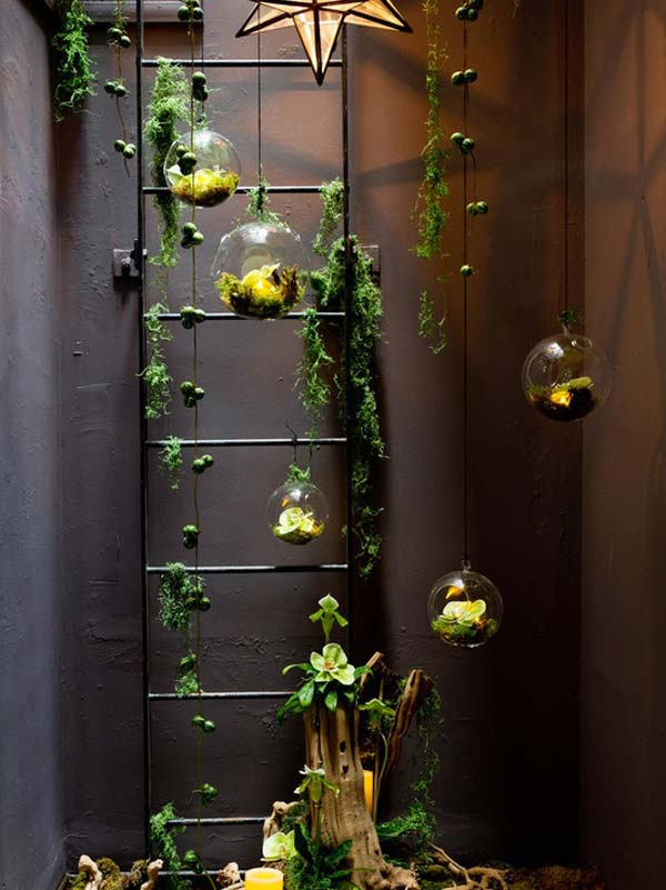 23 ideas to bring nature with indoor garden decoration (5)