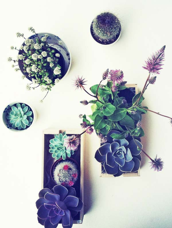 23 ideas to bring nature with indoor garden decoration (9)