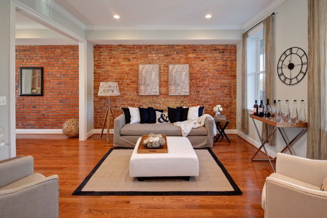 34 brick wall living room interior designs (1)