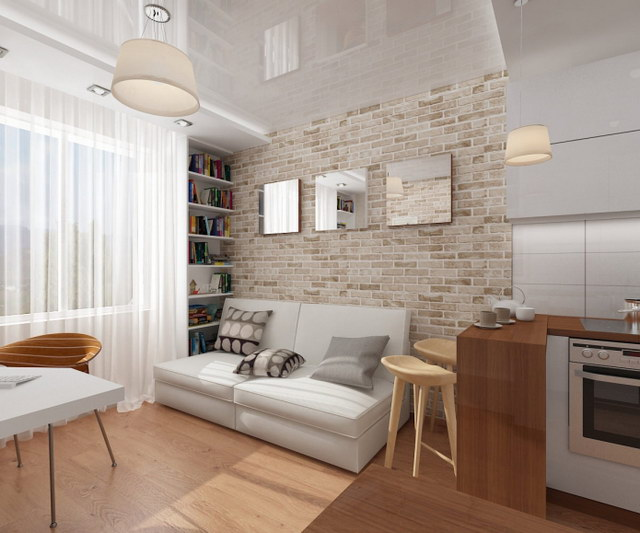 34 brick wall living room interior designs (11)