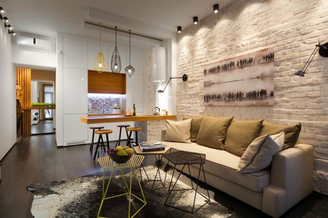 34 brick wall living room interior designs (14)
