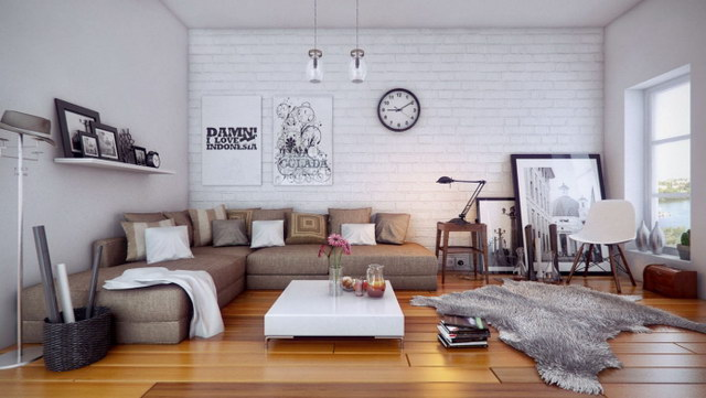 34 brick wall living room interior designs (15)