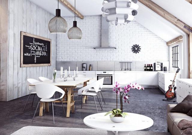 34 brick wall living room interior designs (18)