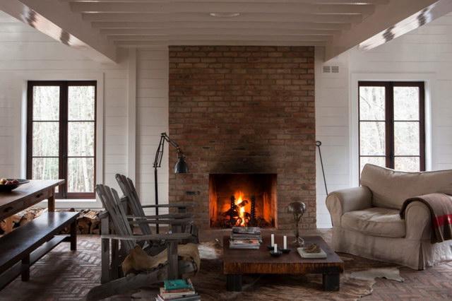 34 brick wall living room interior designs (19)