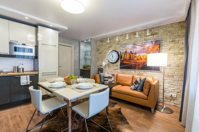 34 brick wall living room interior designs (20)