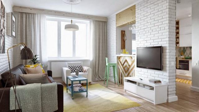 34 brick wall living room interior designs (22)