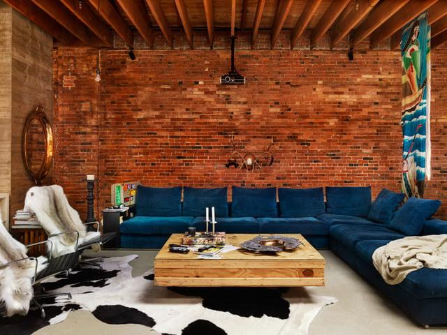 34 brick wall living room interior designs (28)