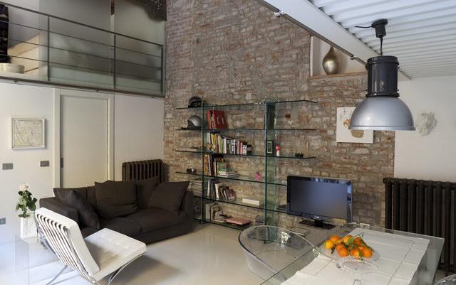 34 brick wall living room interior designs (30)