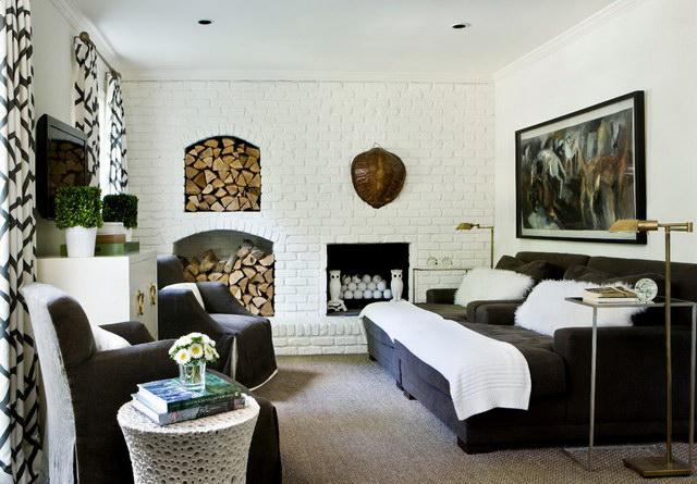 34 brick wall living room interior designs (34)