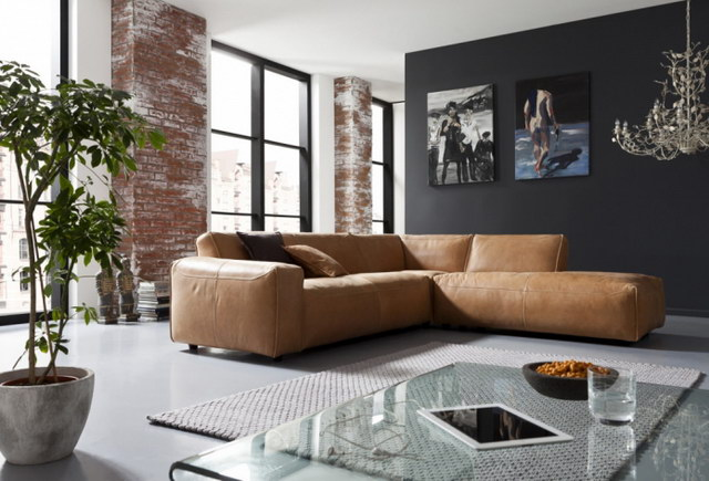 34 brick wall living room interior designs (5)