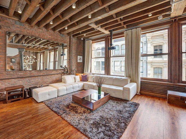 34 brick wall living room interior designs (7)