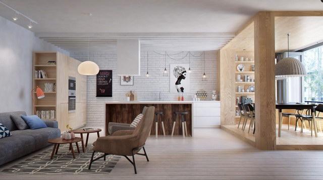 34 brick wall living room interior designs (8)