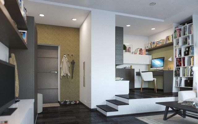 37 sqm modern studio apartment (2)