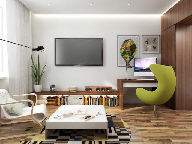 43 sqm walnut theme condominium review (7)