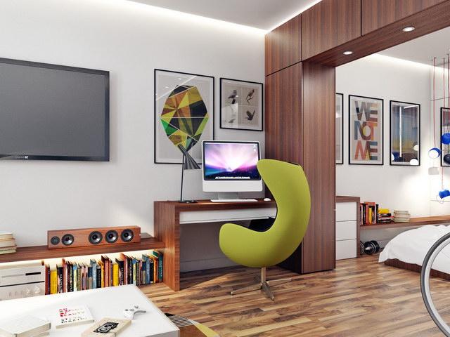 43 sqm walnut theme condominium review (9)