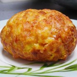 """ชวนเข้าครัวมาทำ """"ไข่เจียวซาลาเปา"""" ไข่สอดไส้เนื้อฟูฟ่อง น่ากินฝุดๆ"""