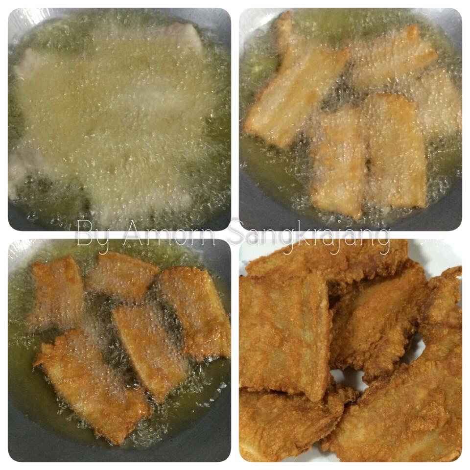 fried bacon stuffed with fish sauce recipe (5)