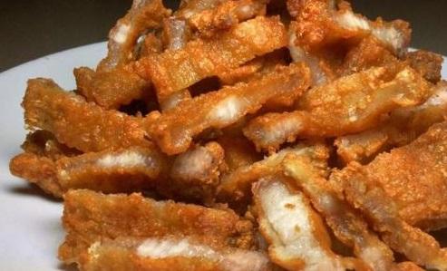 fried bacon stuffed with fish sauce recipe (finish)