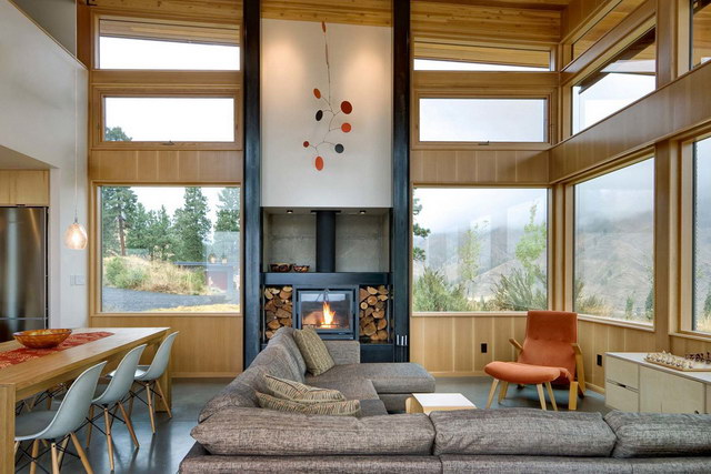 mirror modern country house (3)