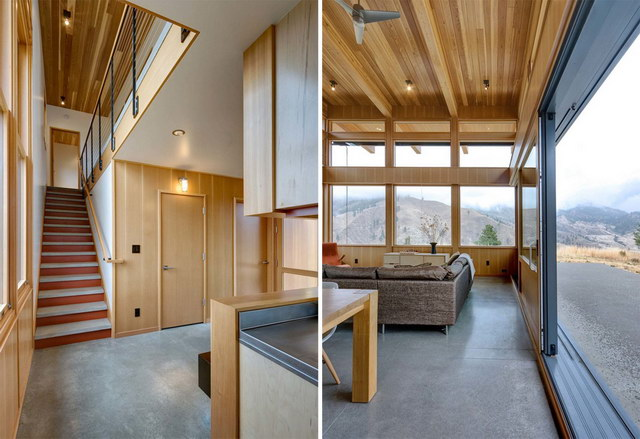 mirror modern country house (4)