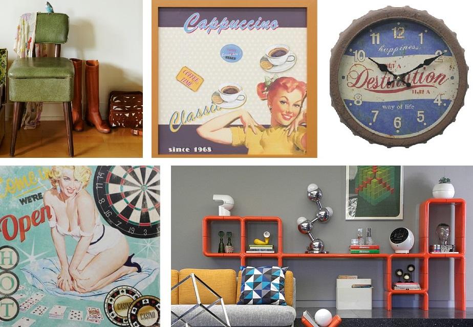 retro decoration items