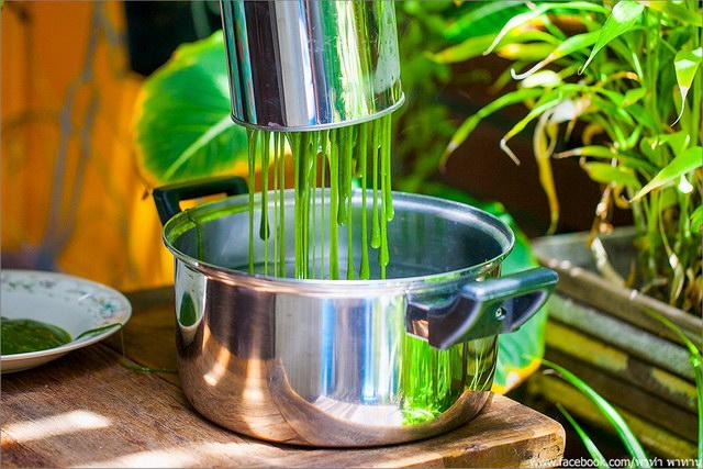 thai rice noodle with coconut cream recipe (15)