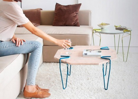 turns everything into furniture with snap the genius clamps (3)