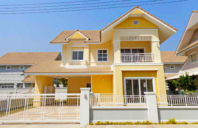 yellow 2 storey contemporary house (1)_resize