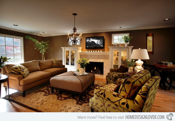 20 earth tone living room (11)