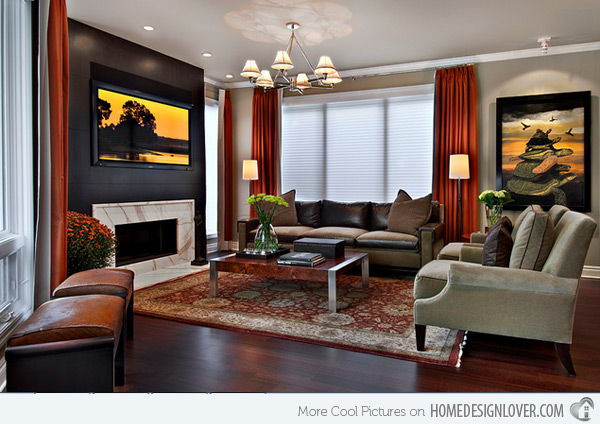 20 earth tone living room (14)