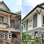 รีโนเวท เปลี่ยนบ้านเช่าที่โดนน้ำท่วมจนโทรม ให้กลายเป็นบ้านใหม่สวยงามอีกครั้ง!!
