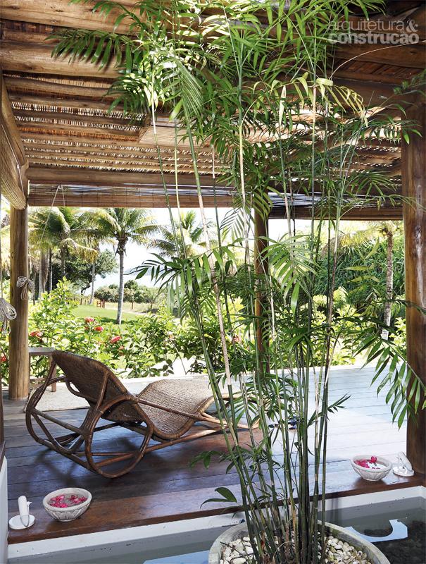 tropical house beach with coconut  (2)